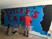 Bailey's Community Mural Summer 2015